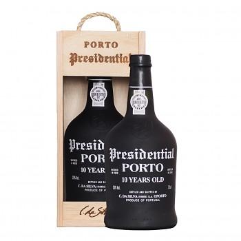 Porto Presidential Tawny 10yo 0,75l 20% + dřevěný box