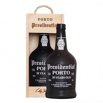 Porto Presidential Tawny 20yo 0,75l 20% + dřevěný box