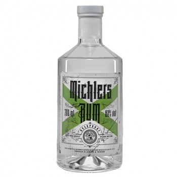 Michlers Overproof White Rum 63% 0,7l