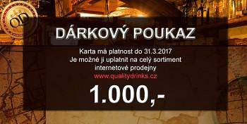Dárkový poukaz QD 300-5.000,- kč
