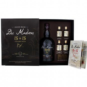 Dos Maderas P.X. Rum  5+5yo 0,7l 40% Tasting Set