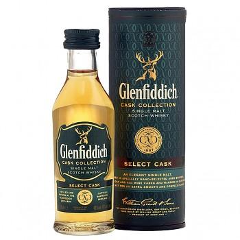 Glenfiddich Cask Collection Scotch Whisky 0,05l 40%