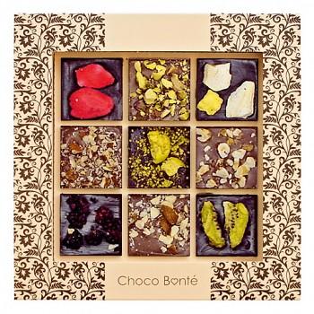 Tabulková hořká, mléčná čokoláda extra 110g.