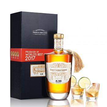ABK6 Honey Liqueur 0,7l 35% + dárková kazeta se 2 skleničkami