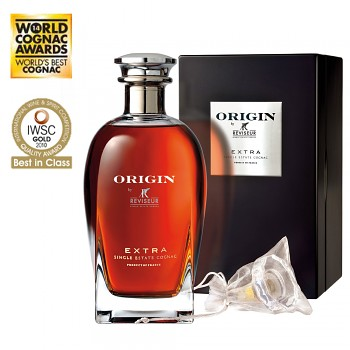 Reviseur *Single Estate ORIGIN Cognac + dřevěný box 0,7l 45%