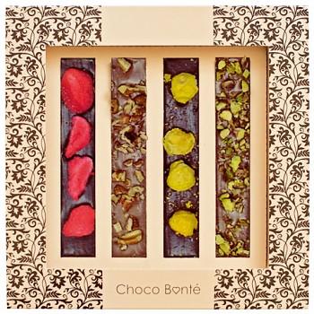 Tabulková hořká, mléčná čokoláda extra 60g. T524