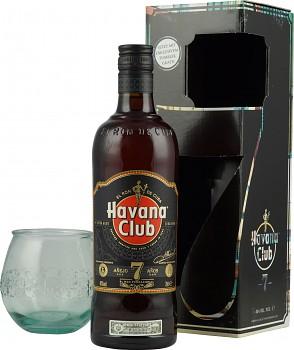 Havana Club Aňejo 7yo Rum Gift set 0,7l 40%