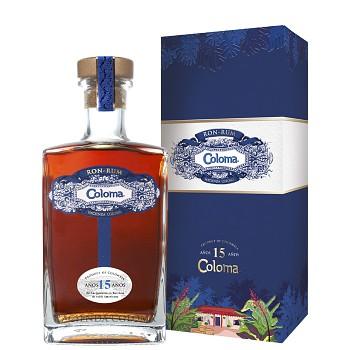 Coloma Rum 15yo 0,7l 40% + dárkový box
